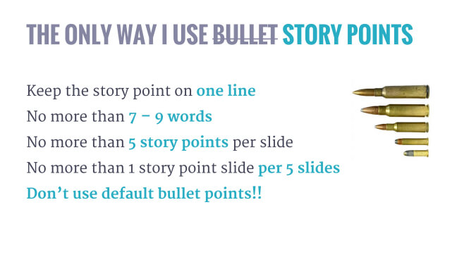 bullet points examples