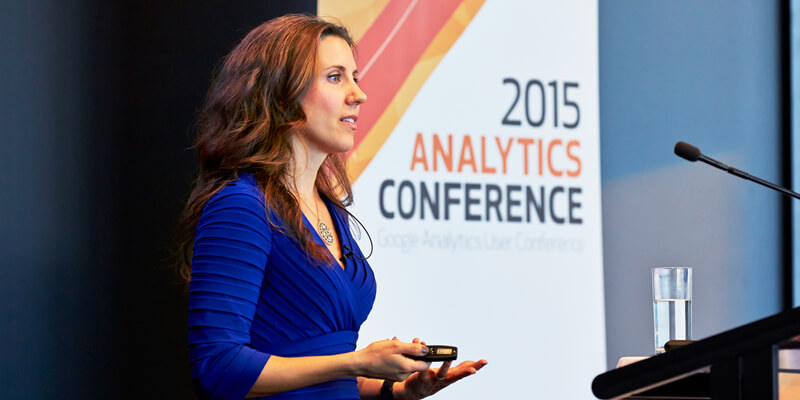 Lea Pica - Speaking Engagements - Loves Data-Analytics Conference 2015