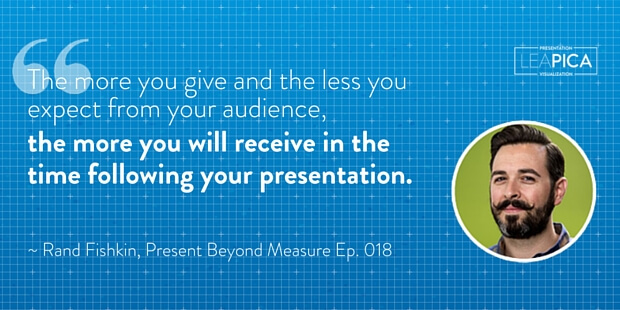 Lea Pica - PBM 018 - Rand Fishkin Quote