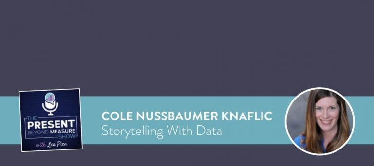 What Practical Storytelling with Data Actually Means with Cole Nussbaumer Knaflic [INTERVIEW]
