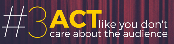 Lea Pica - Act Like You Don't Care About the Audience
