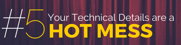 Lea Pica - Your Technical Details are a Hot Mess