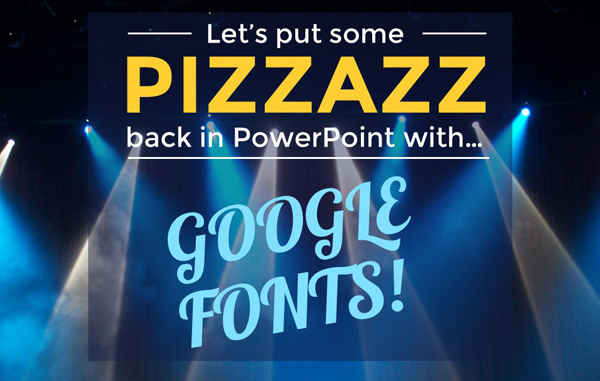Lea PICA - Google Fonts in PowerPoint - Google Fonts Pizzazz