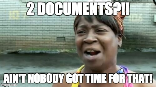 Lea Pica - Presentation Handouts - Ain't Nobody Got Time For That